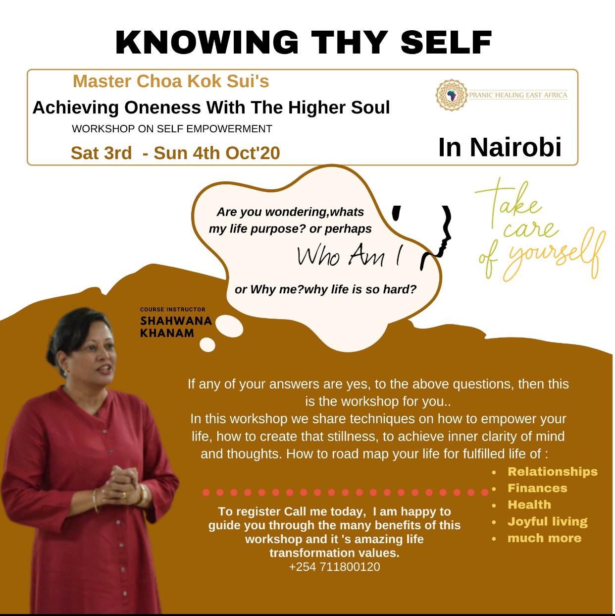 self empowerment workshop