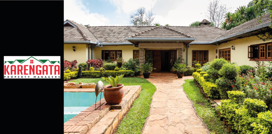 4 Bedroom Family Home With A 3 Bedroom Guest Cottage Sitting On 1.8 acres Located In Windy Ridge, Karen, Nairobi
