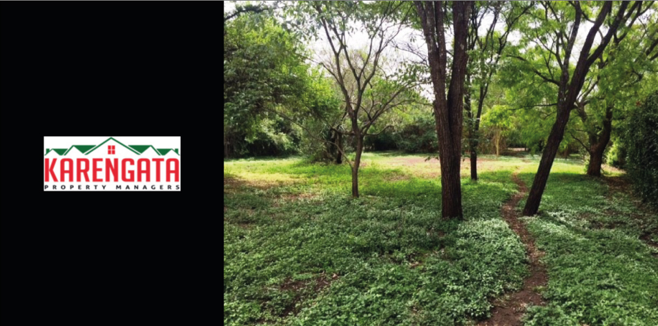 Beautiful Half-Acre Residential Plot Ready For Development Within The Secure Area Of Mukoma Estate, Langata, Nairobi, Kenya