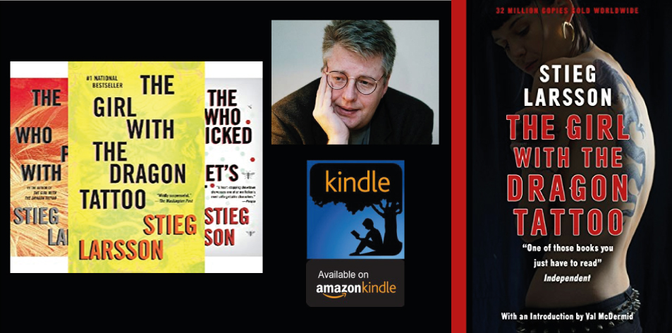 Amazon Kindle- H&S Magazine's Recommended Book Of The Week- Stieg Larsson- The Girl with the Dragon Tattoo (Millennium Series Book 1)