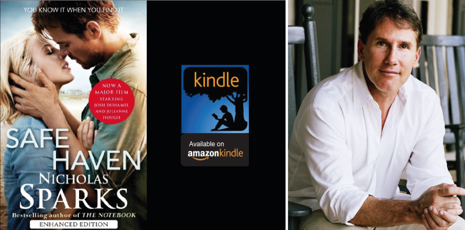 Amazon Kindle- H&S Magazine's Recommended Book Of The Week-Nicholas Sparks- Safe Haven