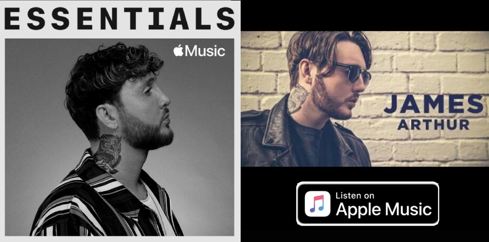 Apple Music- H&S Magazine's Best Artist Of The Week- James Arthur- Essentials