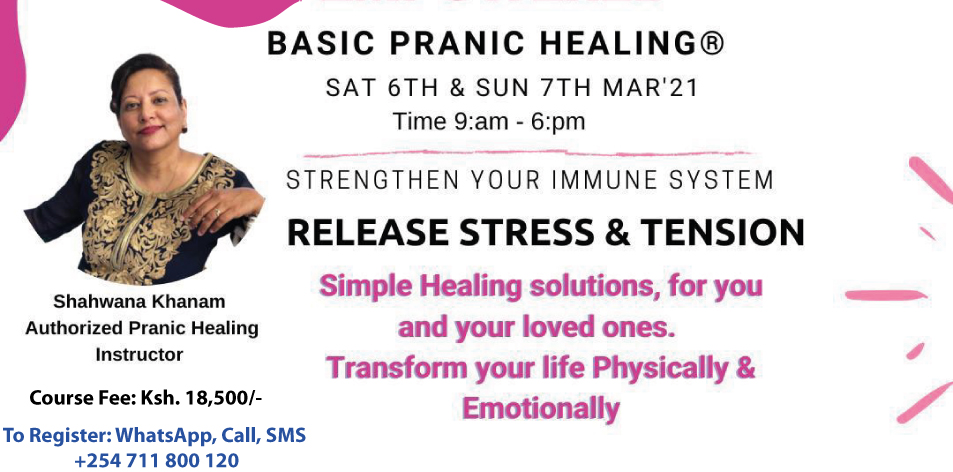 basic pranic healing workshop