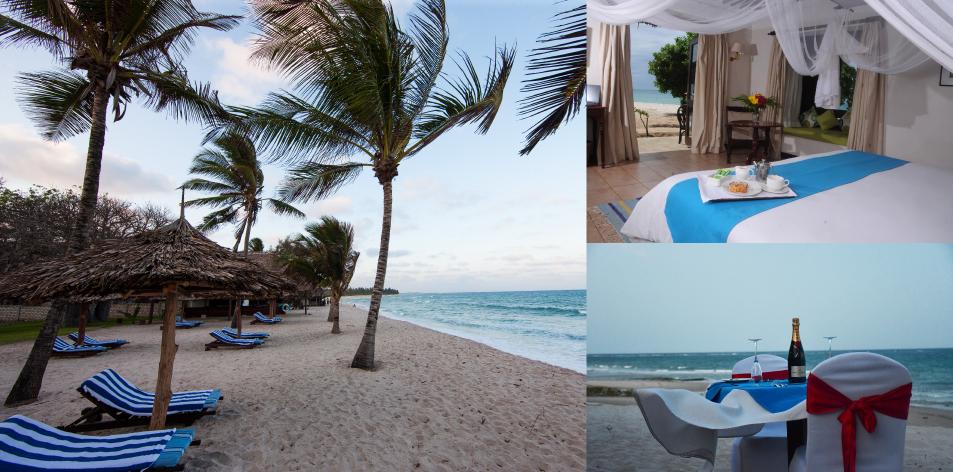 Indian Ocean Beach Resort Diani: 4 Nights Flying Packages