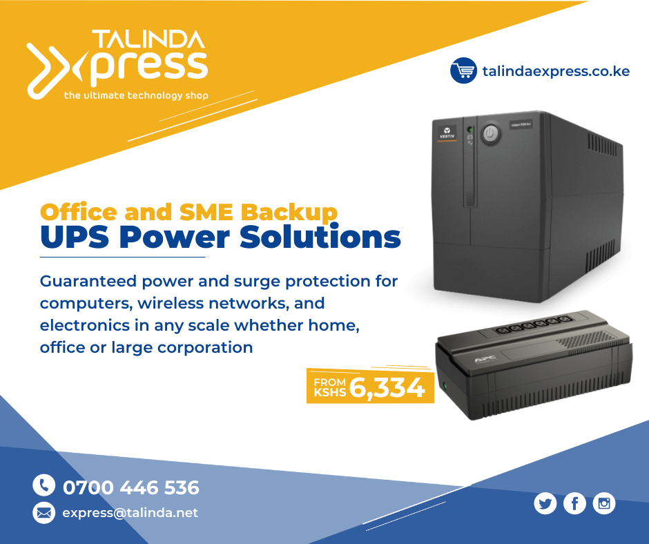 Talinda Express: Power Backup Systems from KSH 6,334 all inclusive