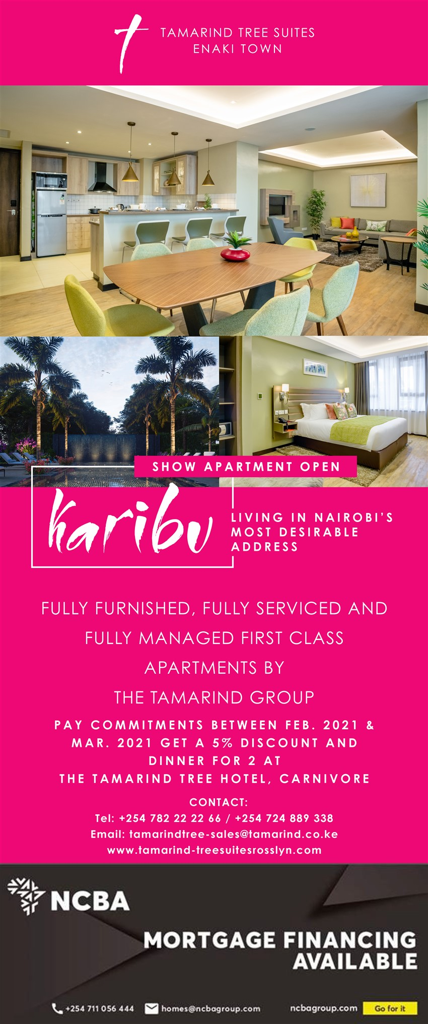 Template TAMARIND TREE SUITES: Living In Nairobi's Most Desirable Address