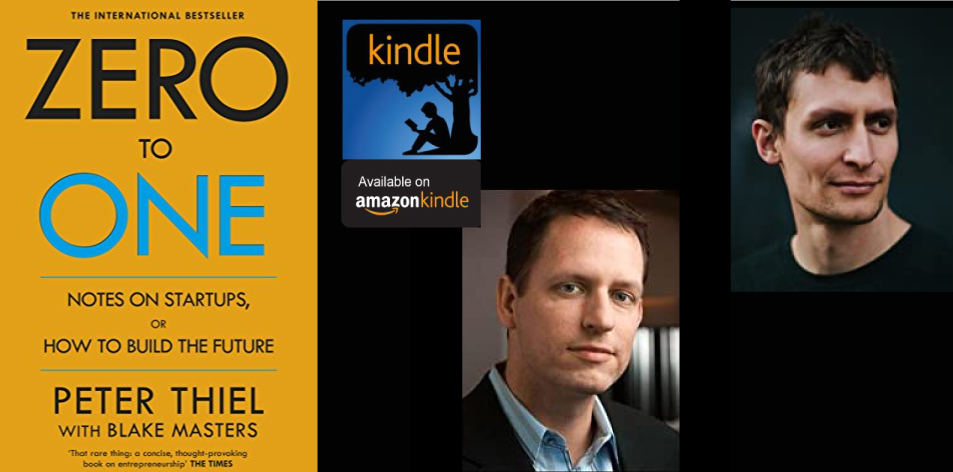 Amazon Kindle- H&S Magazine's Recommended Book Of The Week-By Peter Thiel With Blake Masters- Zero to One: Notes on Start Ups, or How to Build the Future