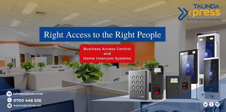 Talinda Express: Right Access to the Right People- Business Access Control & Home Intercom Systems