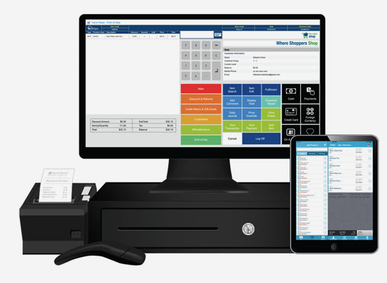 iVend POS – Turning the Point of Sale into a Point of Service