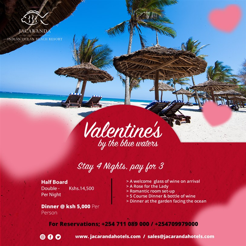 VALENTINES BY THE BEACH
