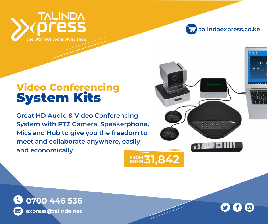 Talinda Express: Video Conferencing Systems from KSH 31,842 all inclusive
