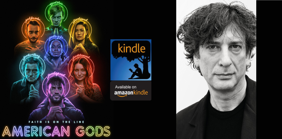 Amazon Kindle- H&S Magazine's Recommended Book Of The Week- Neil Gaiman- American Gods: The Tenth Anniversary Edition: A Novel
