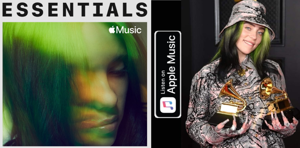 Apple Music- H&S Magazine's Best Artist Of The Week- Billie Eilish- Essentials