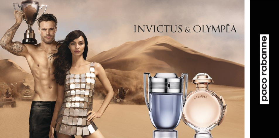H&S Recommended Fragrance of The Week- Paco Rabanne- Invictus & Olympéa