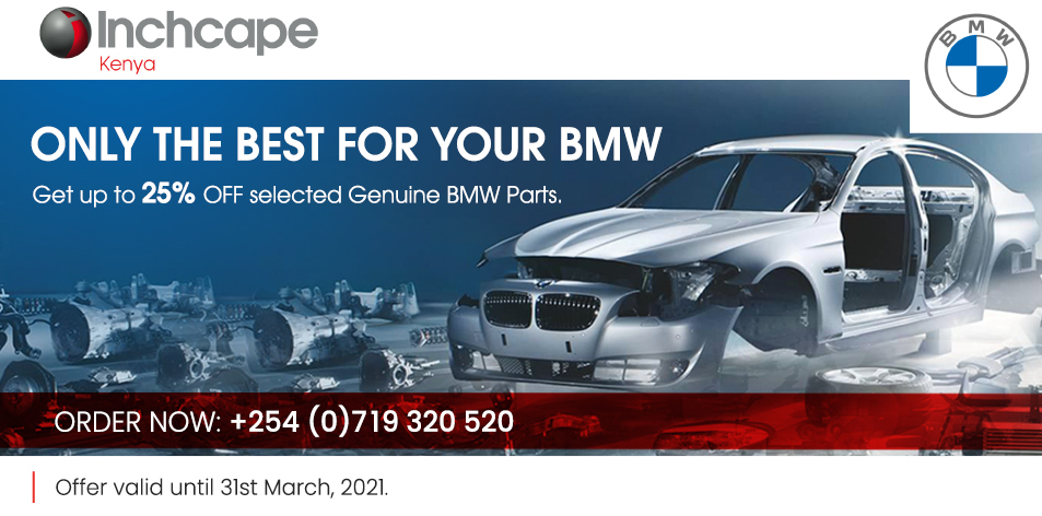 INCHCAPE KENYA LIMITED- Only The Best BMW Parts For You