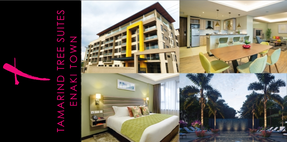 TAMARIND TREE SUITES ENAKI TOWN: Fully Furnished & Fully Managed 1 & 2 Bedroom Hotel-Apartments For Sale