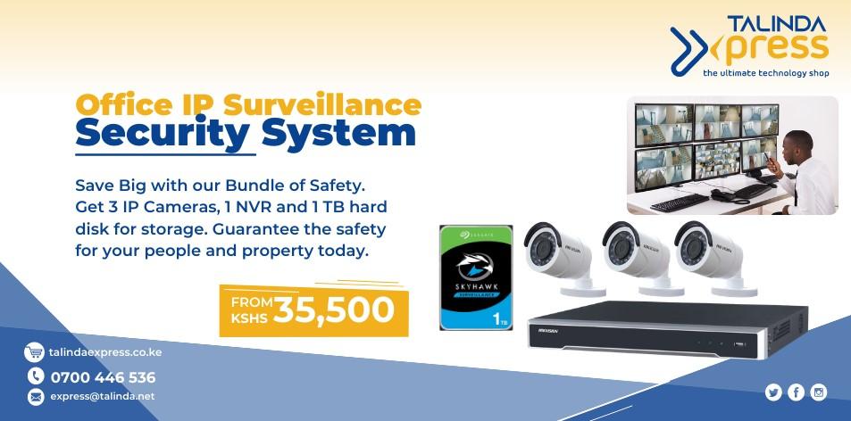Talinda Express: Office IP Surveillance Security System