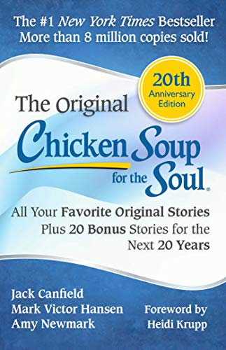 Twenty years later, Chicken Soup for the Soul continues to open the heart and rekindle the spirit. Celebrate the twentieth anniversary with the classic book that inspired millions—reinvigorated with bonus stories of inspiration! You will find hope and inspiration in these 101 heartwarming stories about counting your blessings, thinking positive, and overcoming challenges.