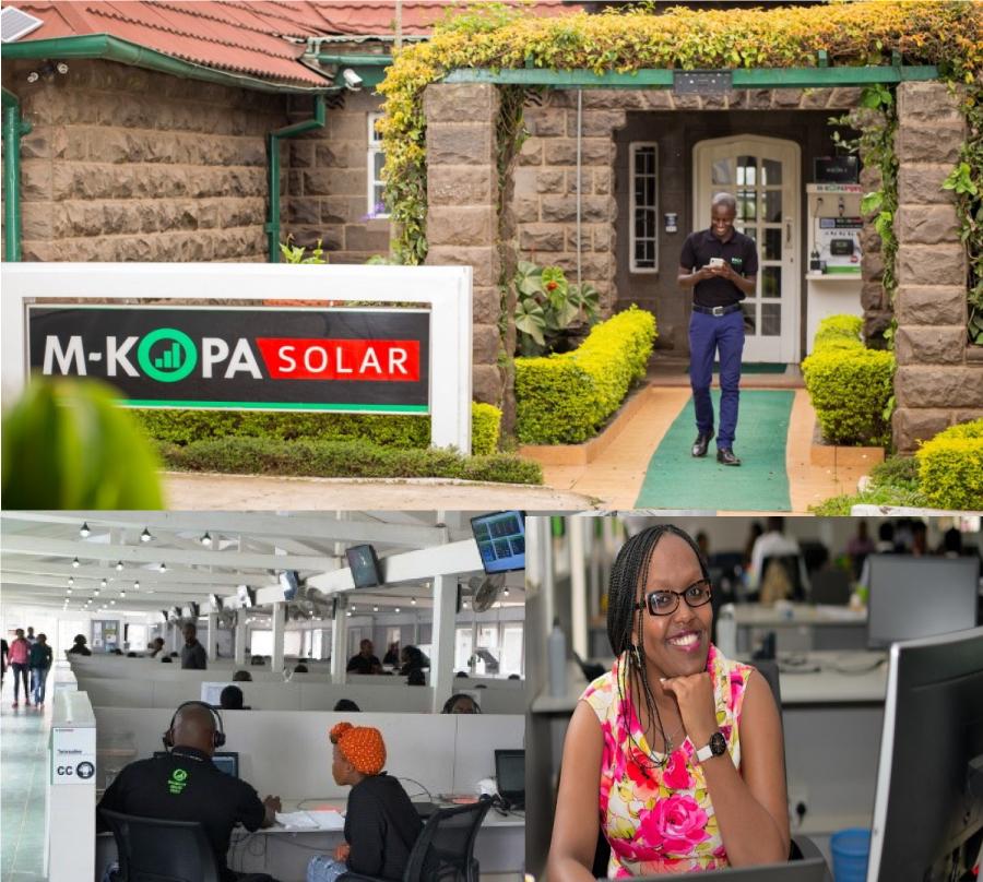 Mkopa Solar Head Offices at Chania Avenue Nairobi 3
