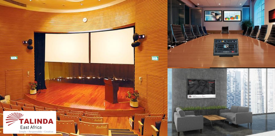Talinda East Africa: Audio Visual Systems for perfect meeting room collaboration and presentations