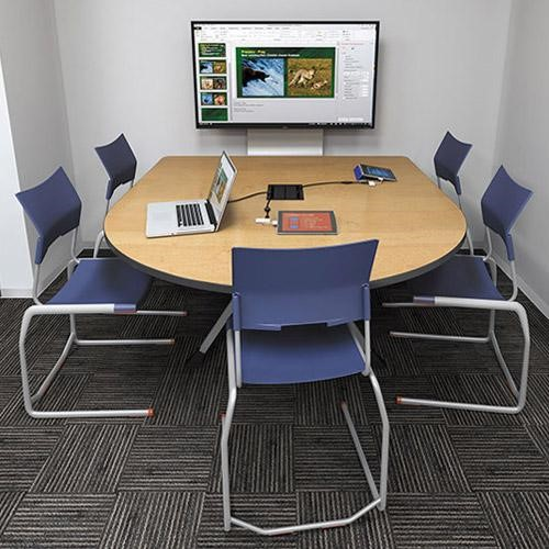 Wired & Wireless Meeting Space