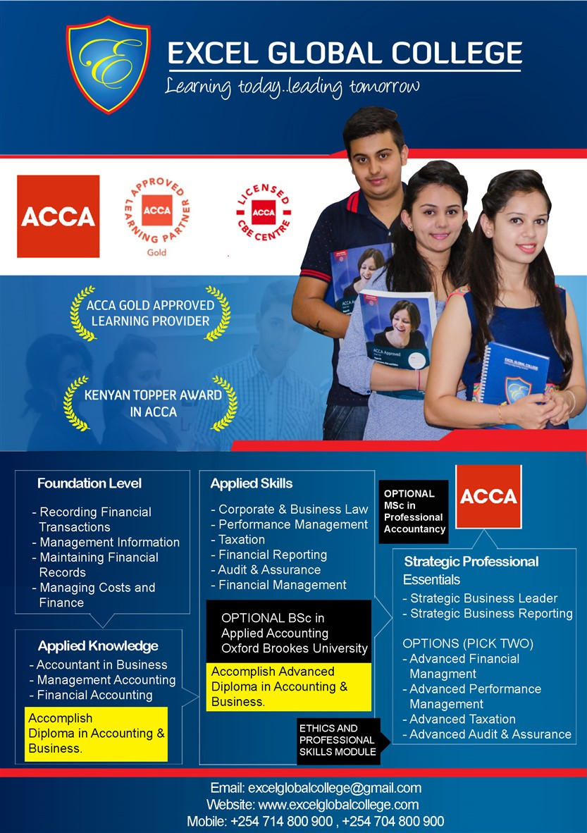 Excel Global College: ACCA Gold Approved Learning Provider