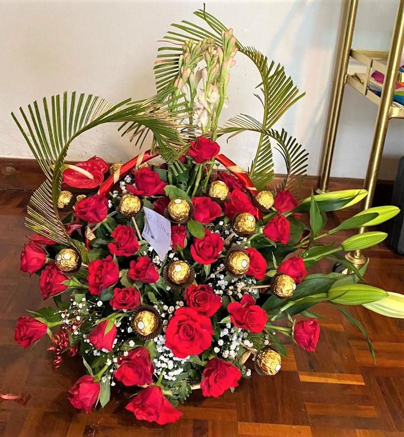 Raksha Bandhan chocolate bouquets