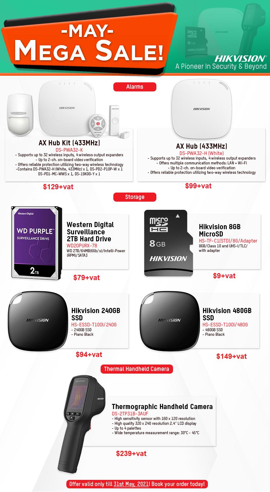 Total Solutions May Mega Sale- Kenya Hikvision Promo