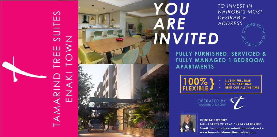 TAMARIND TREE SUITES: You Are Invited To Invest In Nairobi's Most Desirable Address