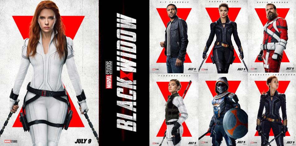ANGA Diamond- Diamond Plaza 2 Cinema- 2nd- 8th July 2021- BLACK WIDOW 3D