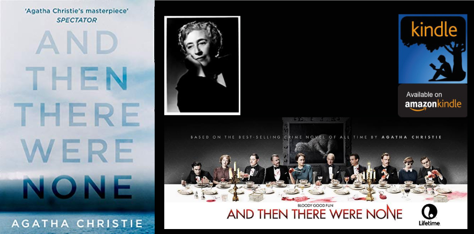 Amazon Kindle- H&S Magazine's Recommended Book Of The Week- Agatha Christie- And Then There Were None: The best-selling murder mystery of all time (Agatha Christie Collection) Masterpiece Edition