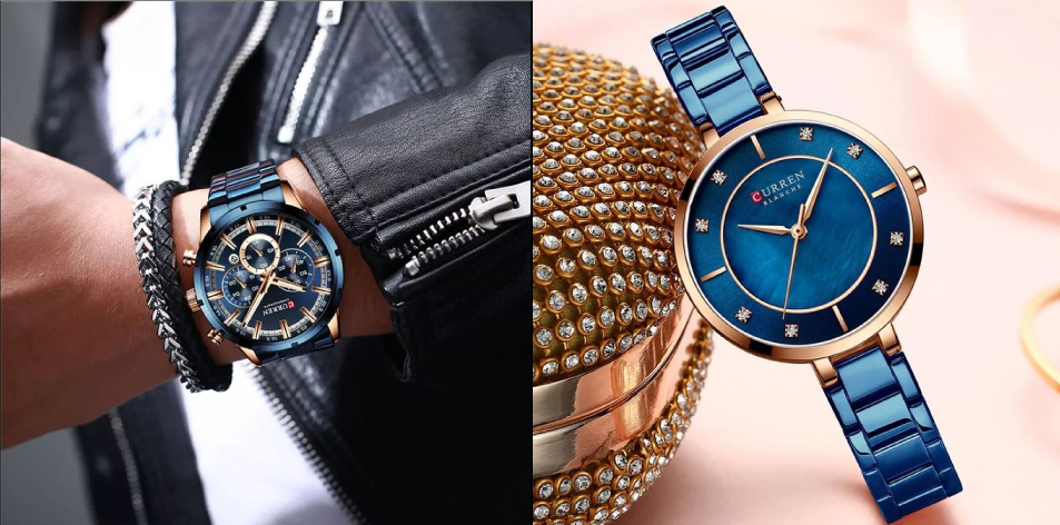 H&S Fashion Feature Of The Week- Curren Luxury Stainless Steel Wrist Watches For Men & Women