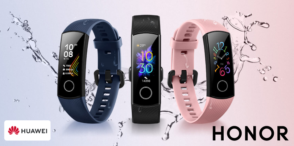 H&S Fashion Feature Of The Week- Huawei Honor Band 5 Smartwatch, 50M Waterproof