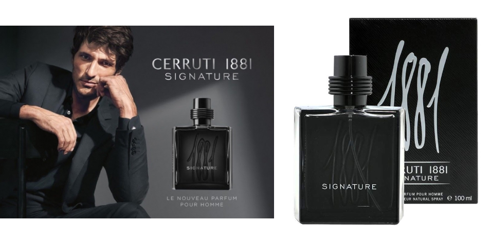 """H&S Recommended Fragrance of The Week- CERRUTI 1881 - """"SIGNATURE"""""""