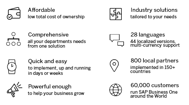 SAP Business One Solutions for SMEs