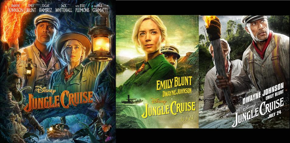 ANGA Diamond- Diamond Plaza 2 Cinema- 23rd-29th July 2021- Jungle Cruise 3D