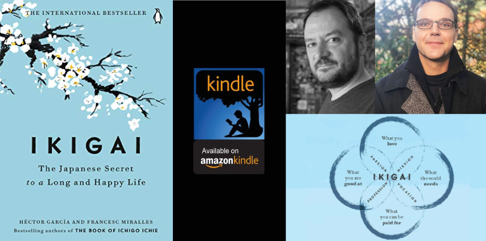 Amazon Kindle- H&S Magazine's Recommended Book Of The Week-Héctor García & Francesc Miralles- Ikigai: The Japanese Secret to a Long and Happy Life