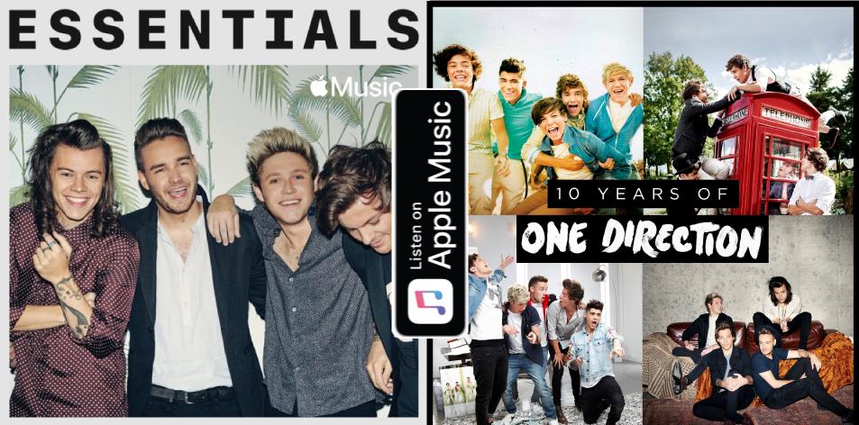 Apple Music- H&S Magazine's Best Artist Of The Week- One Direction- Essentials