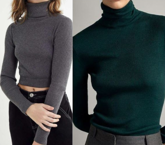 For Women- Fashion 2 Pack Classy Ladies' Pull-necks