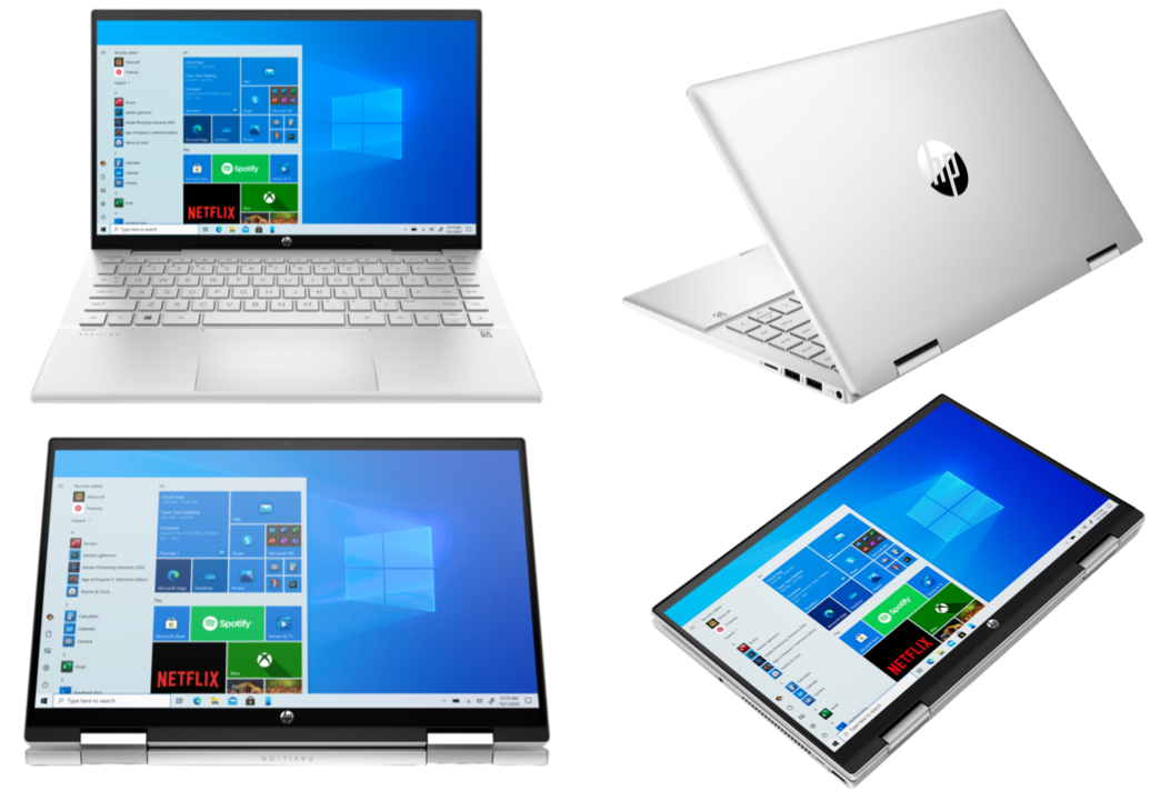 HP Pavilion x360- HP's Most Compact, Mainstream 2-in-1 Convertible Laptop
