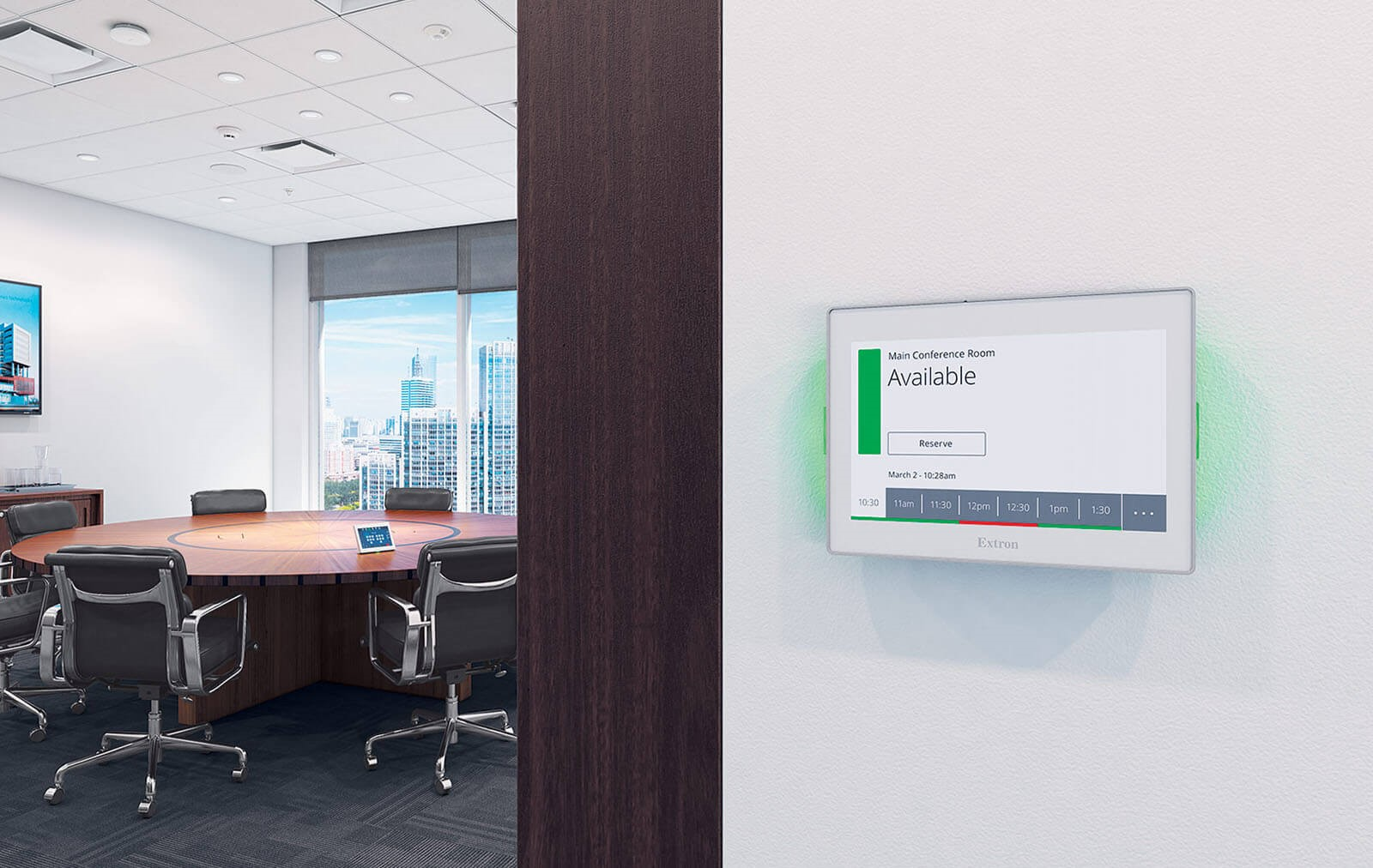Meeting room booking system and Digital Signage displays