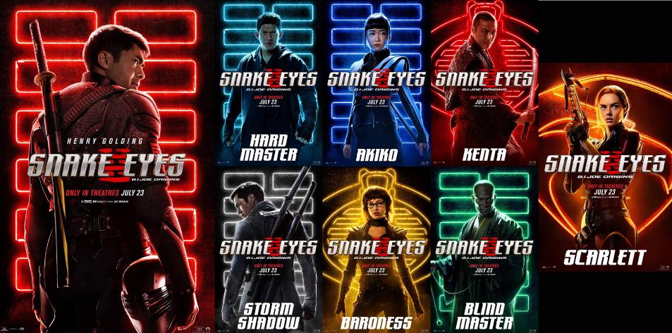 MEGA CINEMAS KISUMU CINEMA GUIDE: 23rd-29th July 2021- Snake Eyes | Henry Golding, G.I. Joe