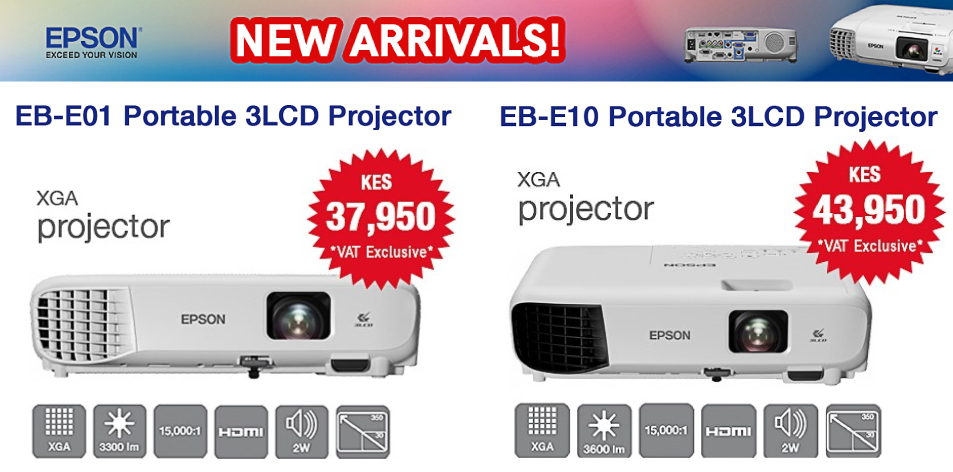 Total Solutions Ltd: New Arrivals!! Get the latest 3LCD Projectors Best for Business and Entertainment! Works Equally Well at Home or in the Office.