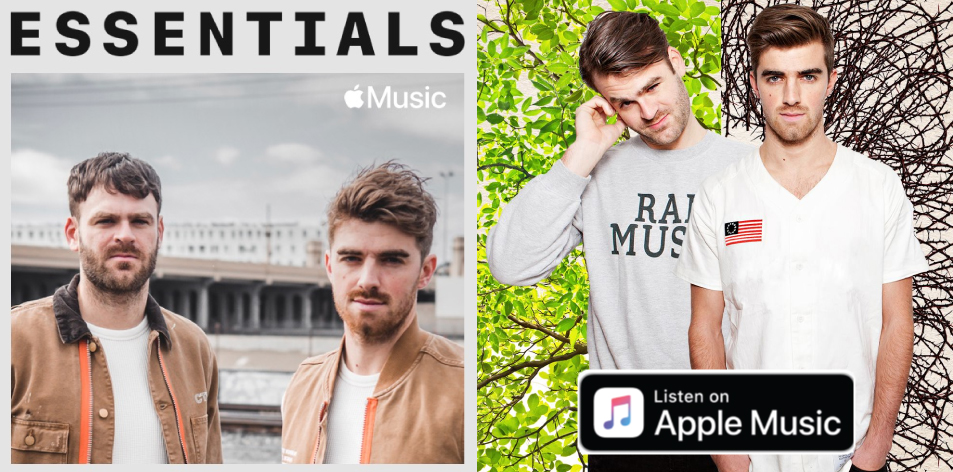 Apple Music- H&S Magazine's Best Artist Of The Week- The Chainsmokers Essentials