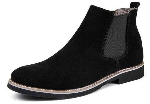 Fashionable Men's Suede Leather Boots