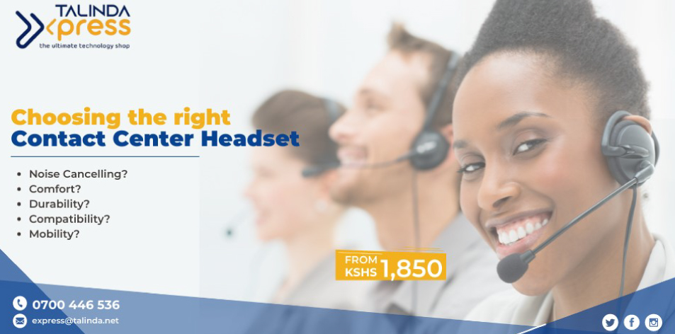 Talinda Express: Choosing The Right Contact Center Headsets For Your Business