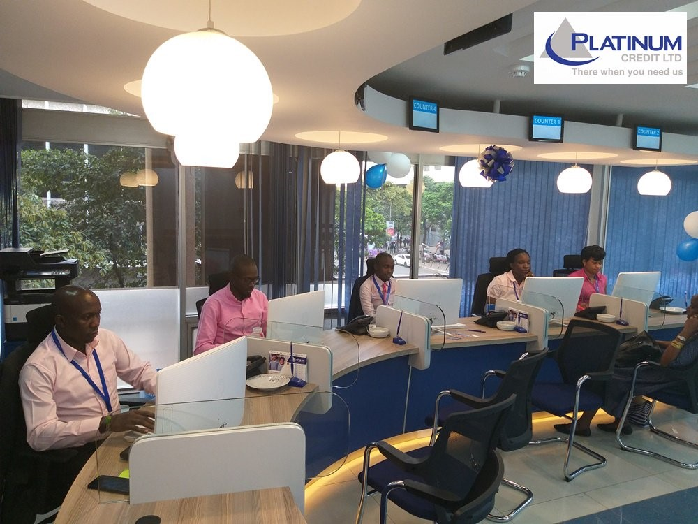 Telephony System at Platinum Credit office