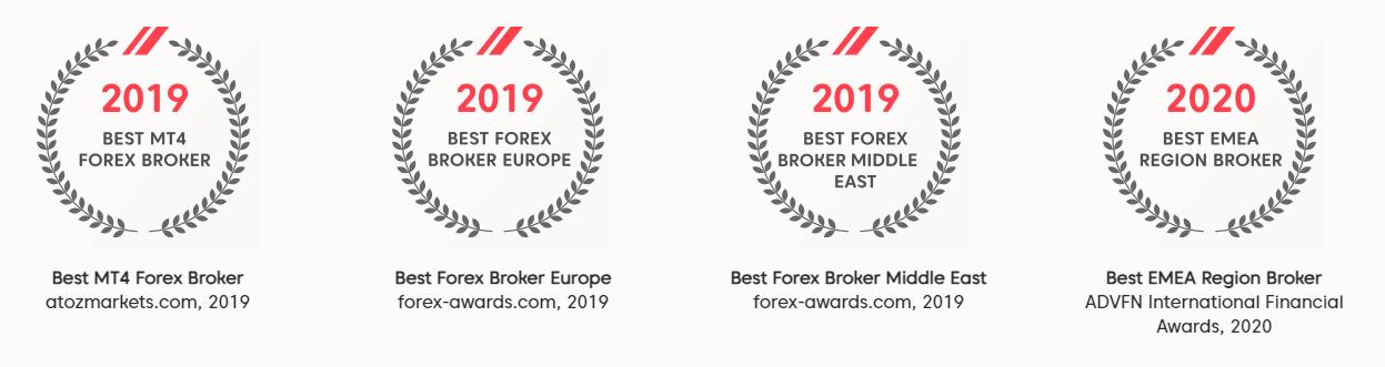 AXI Award Winning Broker 2021