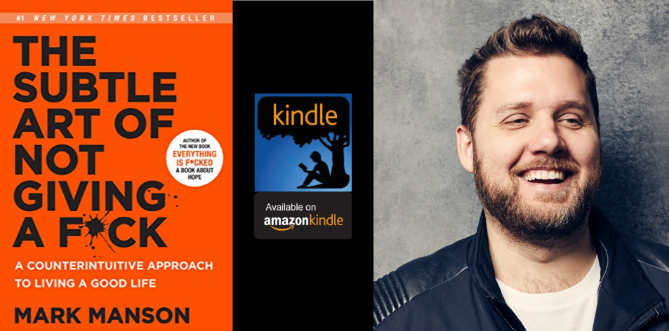 Amazon Kindle- H&S Magazine's Recommended Book Of The Week-Mark Manson- The Subtle Art of Not Giving a F*ck: A Counterintuitive Approach to Living a Good Life (Mark Manson Collection Book 1)