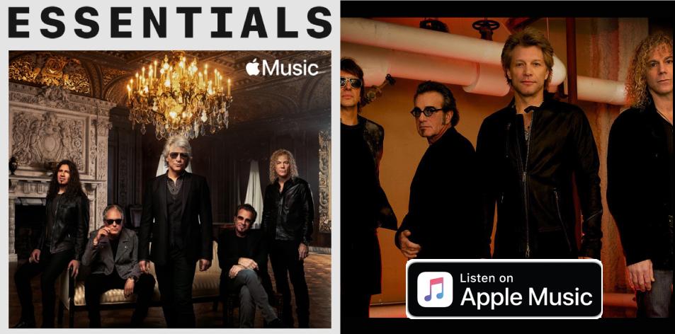 Apple Music- H&S Magazine's Best Artist Of The Week- Bon Jovi Essentials